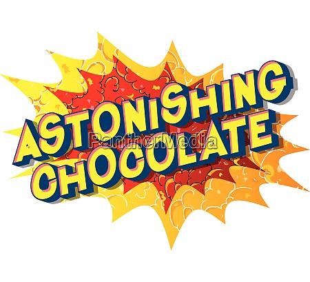 astonishing, chocolate, -, comic, book, style - 26608001
