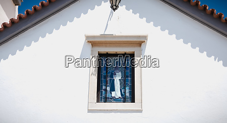 small white church typical of the