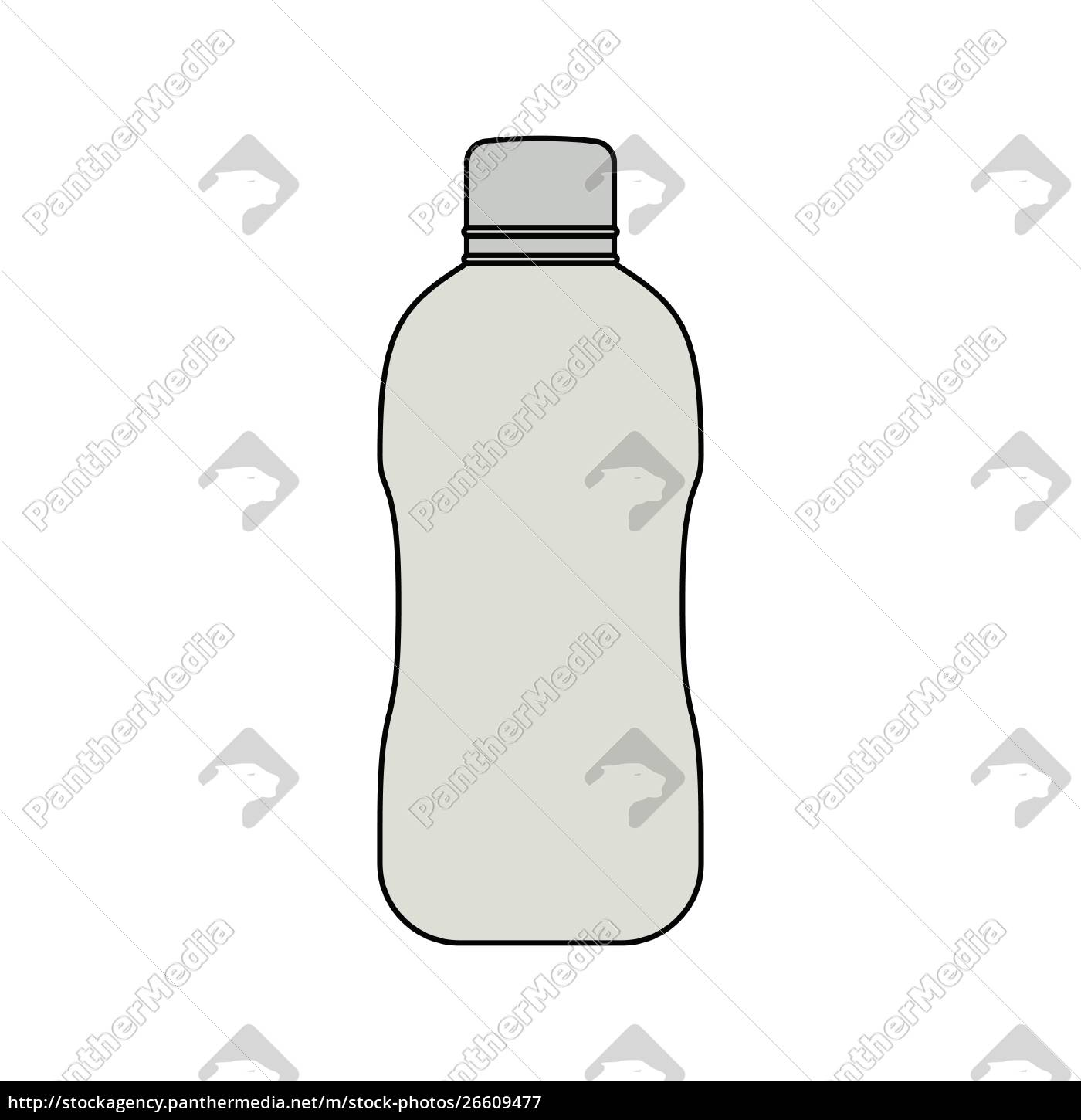 flat, design, icon, of, water, bottle - 26609477