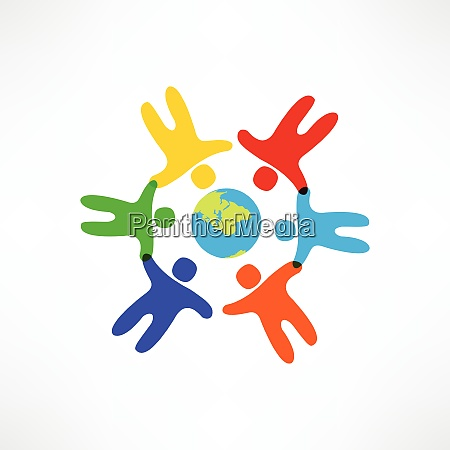 world friendship icon