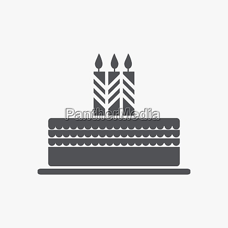cake with a candle icon