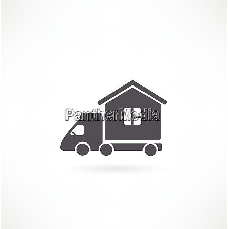 motorhome car icon vector illustration