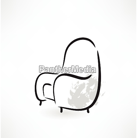 armchair grunge icon