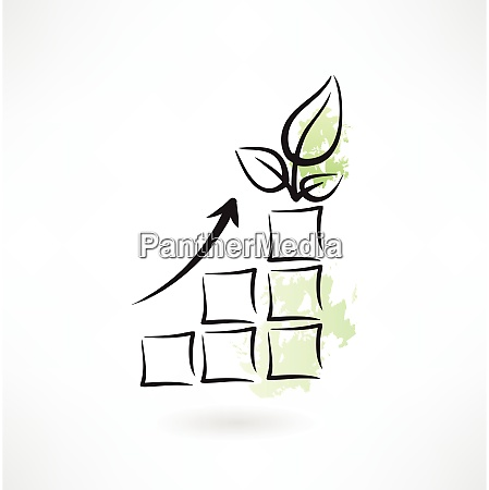 diagram eco icon