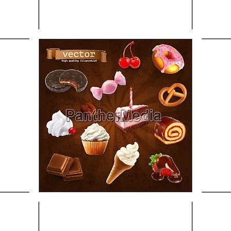 confectionery vector set 2