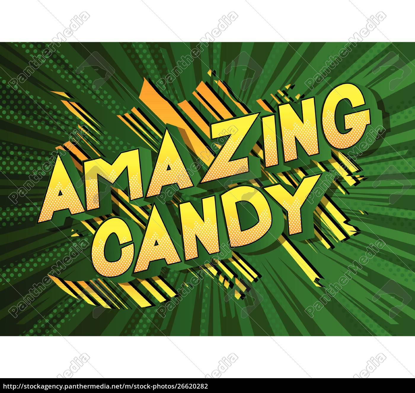 amazing, candy, -, comic, book, style - 26620282