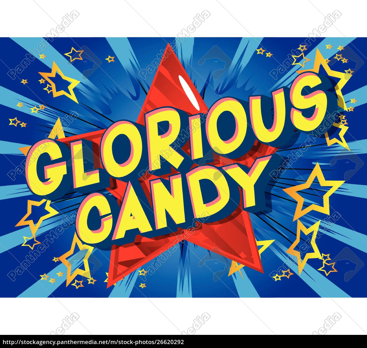 glorious, candy, -, comic, book, style - 26620292