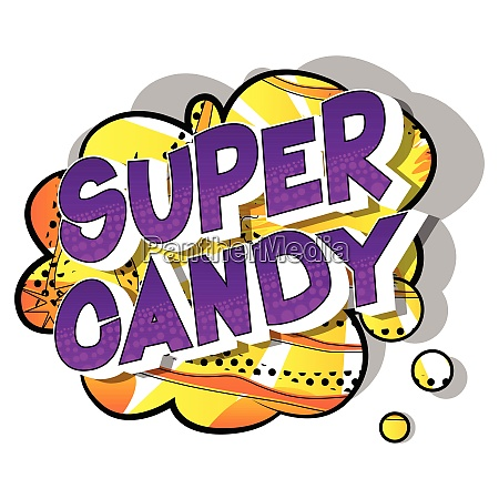 super, candy, -, comic, book, style - 26620308