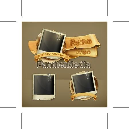 photo frame vector icon