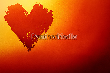 abstract red and yellow background with