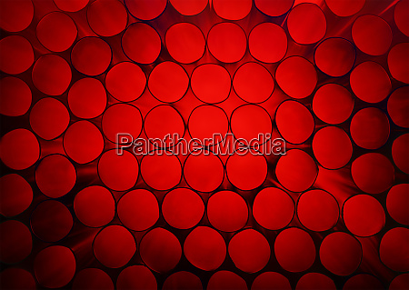 abstract red colorful background of stack