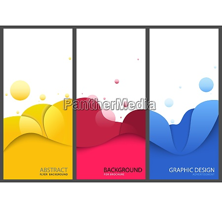 business banners or brochure templates