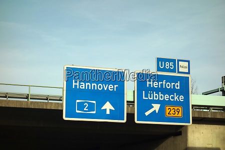 federal motorway hannover herford luebbecke
