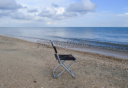 folding chair by the sea convenience