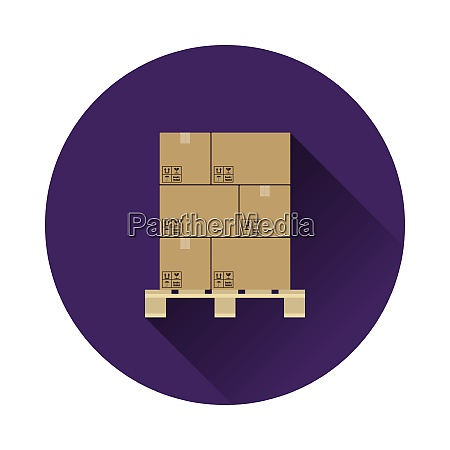cardboard, package, box, icon - 26629872