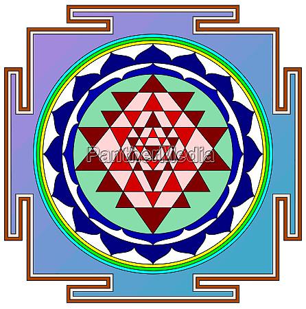 mandala sri yantra chakra tantra spirituality