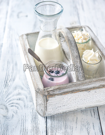assortment, of, dairy, products - 26634152