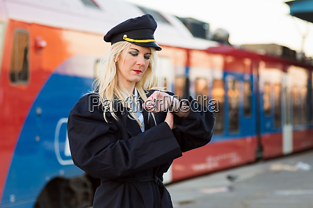 transport conductor checking time