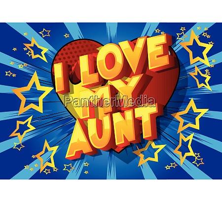 i love my aunt comic