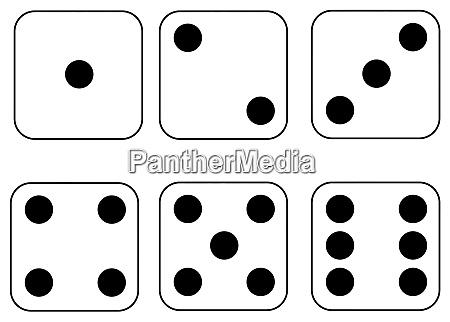 dice casino play gambling chance numbers