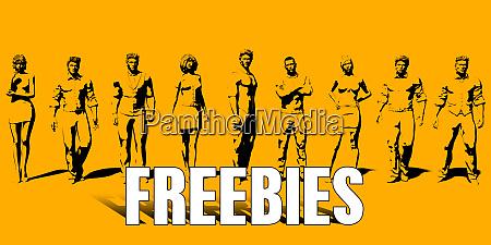 freebies concept