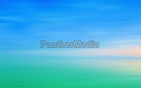 abstract motion blurred seascape background in