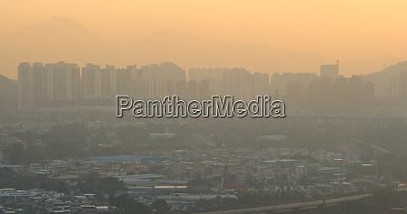 air pollution problem in hong kong