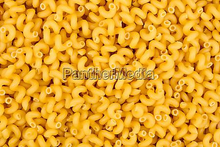 texture of raw cavatappi cellentani noodles