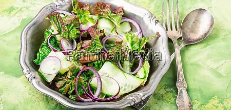 spring vegetable salad