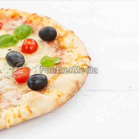 pizza margarita margherita copyspace copy space