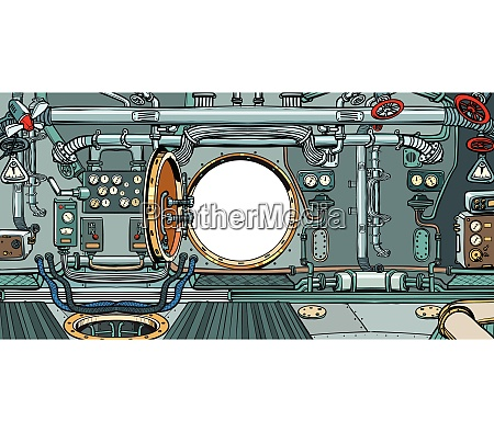 compartment or command deck of a