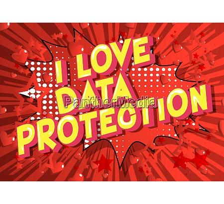 i love data protection comic
