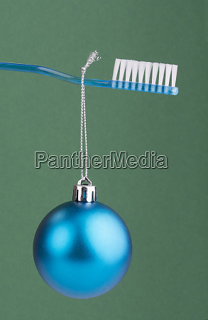 baubles and brush