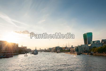 skyline london great britain