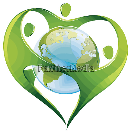 earth environment protection globe conservation green