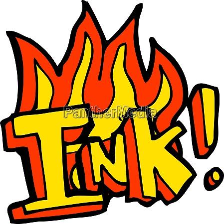 ink cartoon