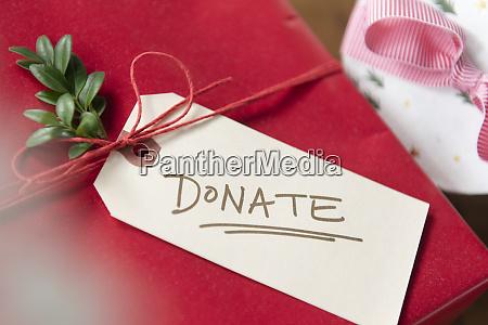 christmas present donation