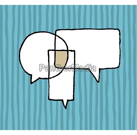 dialog agreement negotiation speech balloons