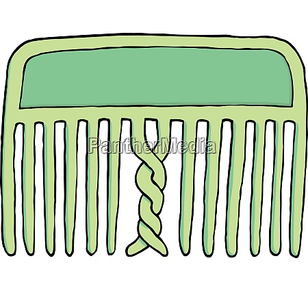 confused tangled comb