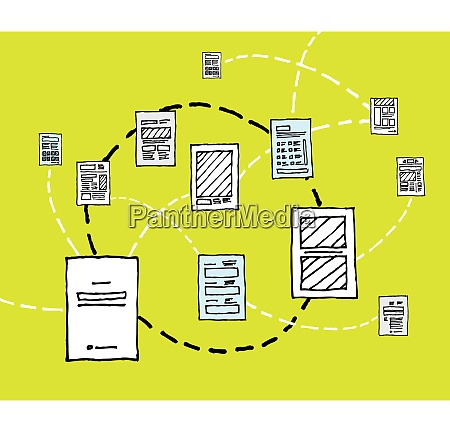information dynamics document network flow