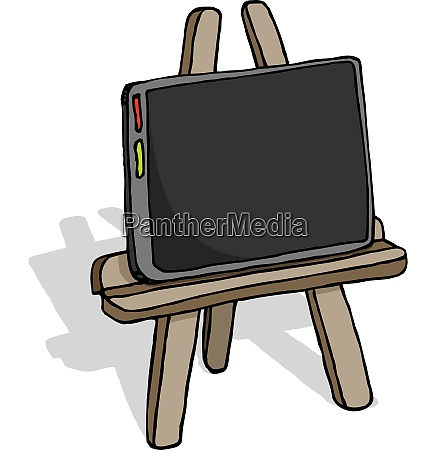 tablet as canvas humor art