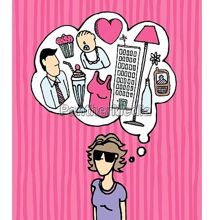 woman mind busy women