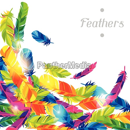 colorful background with bright abstract transparent