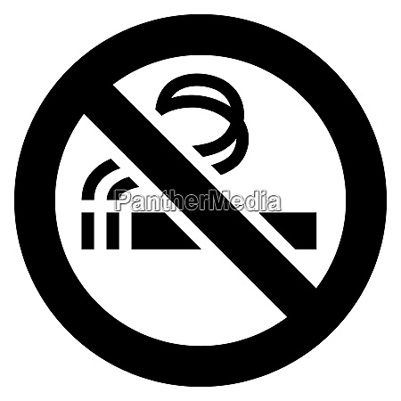 no smoking black sign no smoking