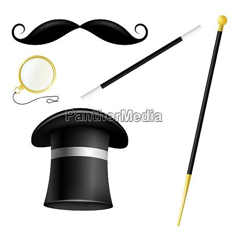 accessory set english gentleman