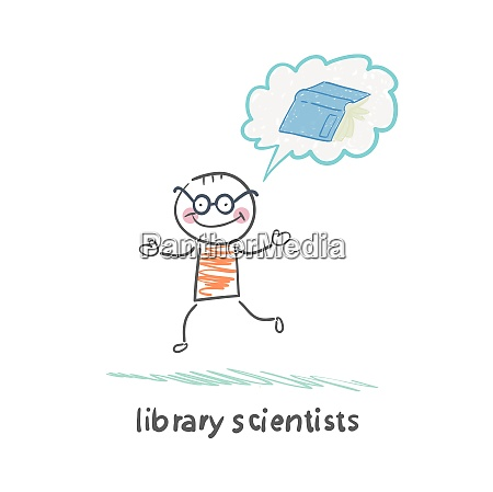 library scientists think about the book