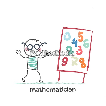mathematician says about the presentation of