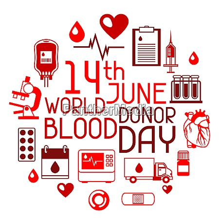 14t june world blood donor day