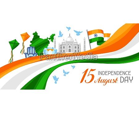 india independence day banner celebration 15