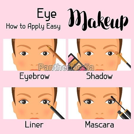 eye makeup how to apply easy